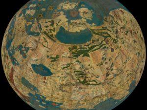Старая карта с Даарией