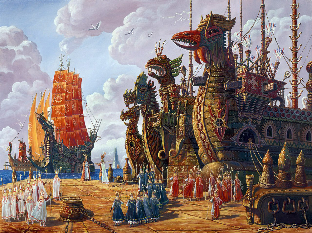 Флот Гипербореи выполнит приказ!