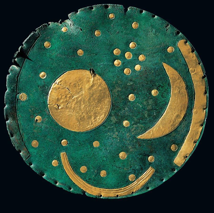 Рис. 2. Изображение диска из Небры Д. Бахмана