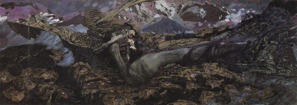М. А. Врубель. Демон поверженный