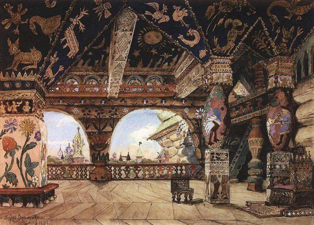 В. М. Васнецов. Палаты царя Берендея