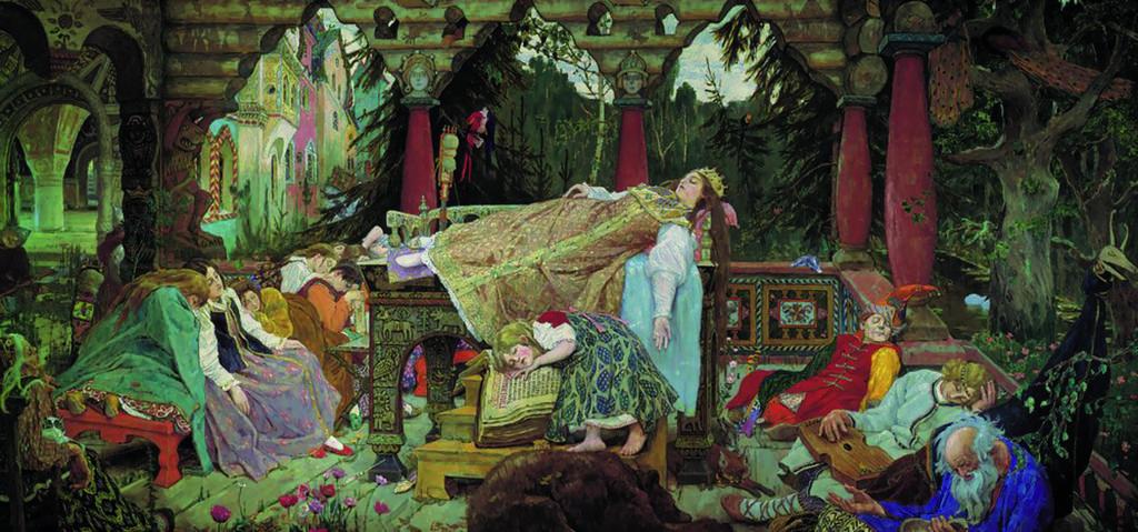 В. М. Васнецов. Сказка о спящей царевне