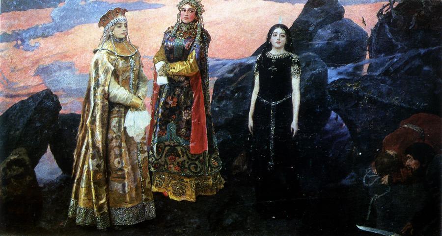 В. М. Васнецов. Три царевны подземного царства